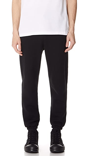 Alexander Wang Dense Fleece Sweatpants