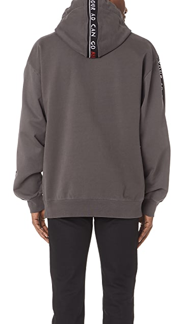 Alexander Wang Bolo Terry Hoodie