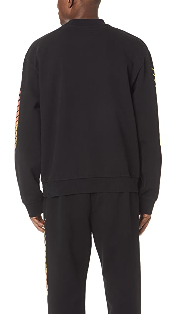 Alexander Wang Faded Black Sweatshirt