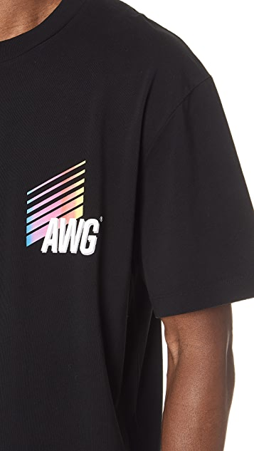 Alexander Wang Corporate T-Shirt with Short Sleeves