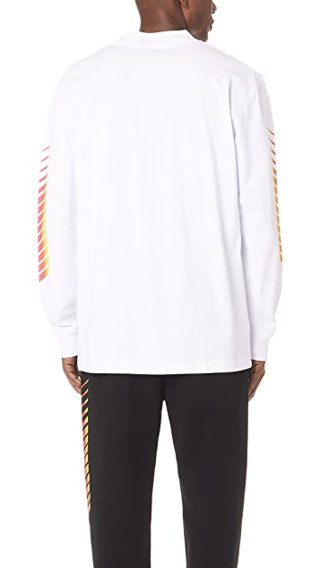 Alexander Wang Corporate T-Shirt with Long Sleeves