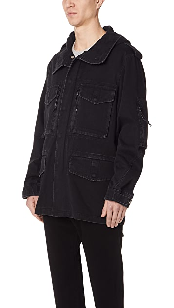 Alexander Wang Denim Field Jacket
