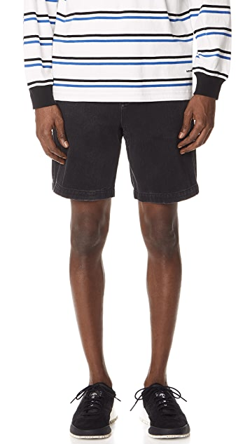 Alexander Wang Medium Weight Denim Shorts