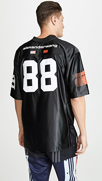 Alexander Wang High Shine Jersey T-Shirt
