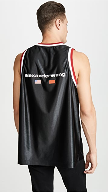 Alexander Wang High Shine Tank
