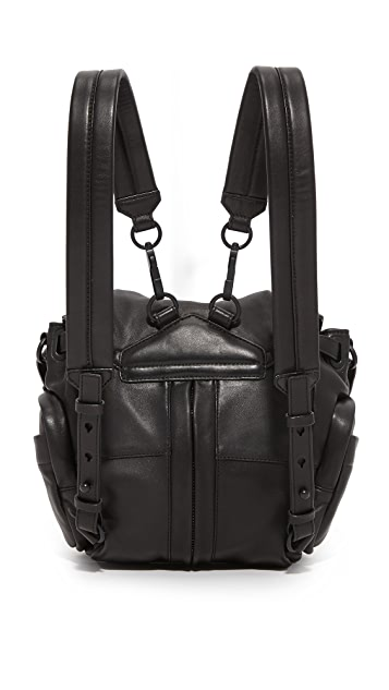 Alexander Wang Mini Marti Backpack with Covered Zips