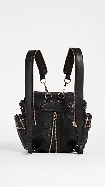 b937c34bc6 ... Alexander Wang Mini Marti Backpack with Rose Gold Hardware ...