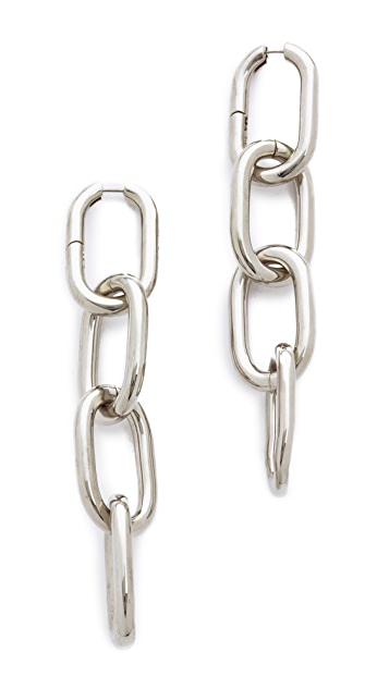 Alexander Wang Four Link Earrings