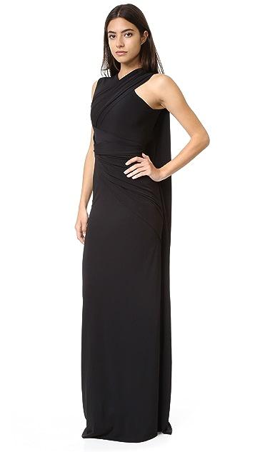 Alexander Wang Asymmetrical Draped Gown