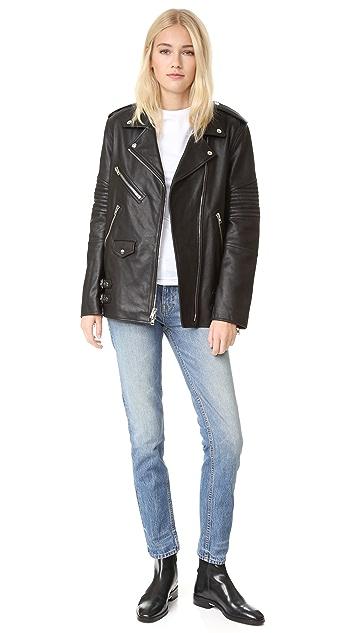 Alexander Wang Boyfriend Moto Jacket