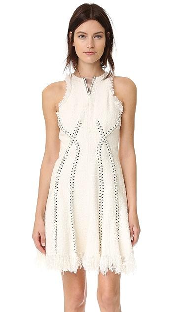 Alexander Wang Sleeveless Dress with Piercing Detail