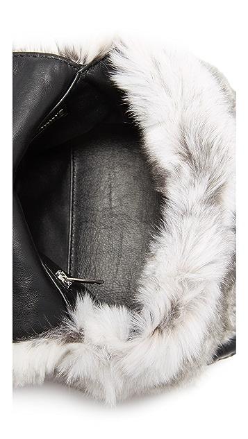 e035d305f40e ... Alexander Wang Mini Rex Fur Shoulder Bag