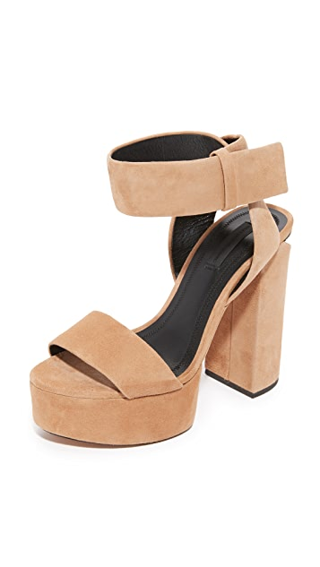 Alexander Wang Keke Platform Sandals