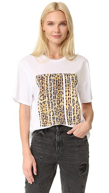 785d6e0533e4 Alexander Wang Bonded Barcode T-Shirt | SHOPBOP