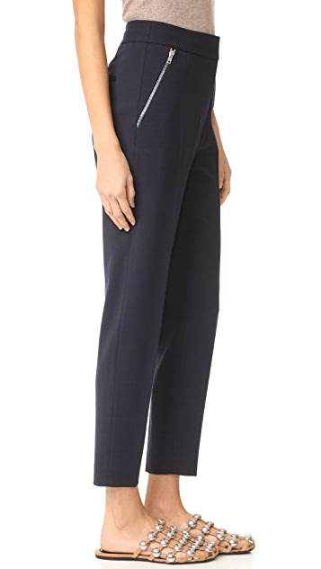Alexander Wang Tailored Pants with Zip Pockets