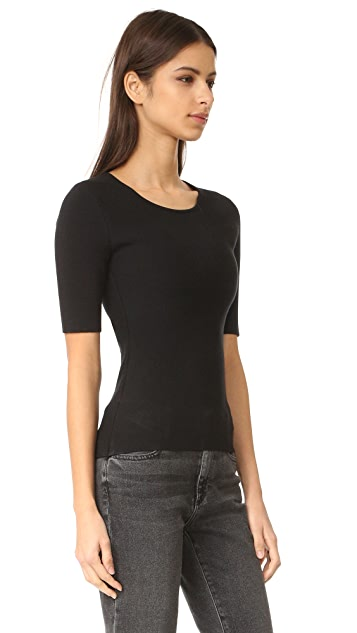 Alexander Wang Pullover with Back Slit Lacing