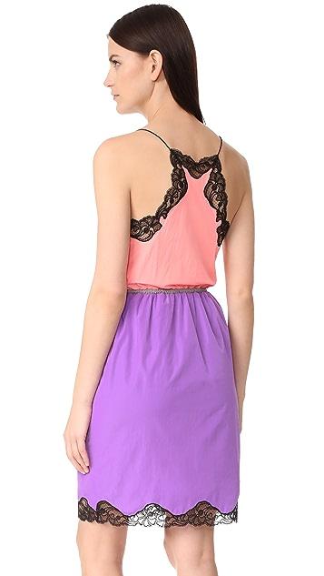 Alexander Wang V Neck Slip Dress