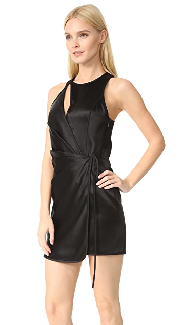 Alexander Wang Swim Wrap Mini Dress