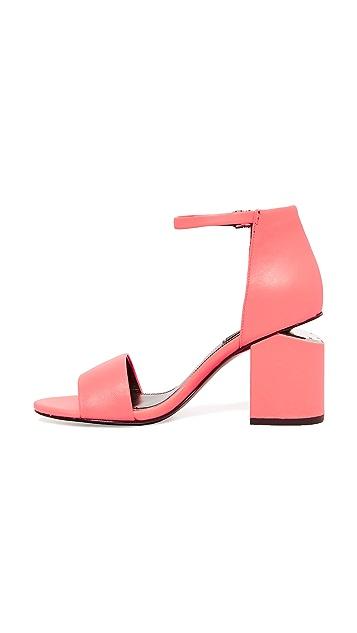 Alexander Wang Abby Mid Heel Sandals