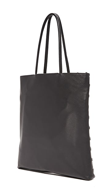 Alexander Wang Dome Stud Cage Shopper Tote