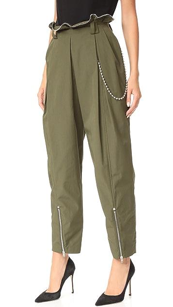 Alexander Wang Army Ballchain Pants