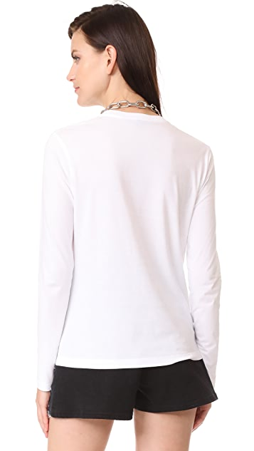 Alexander Wang Long Sleeve Tee