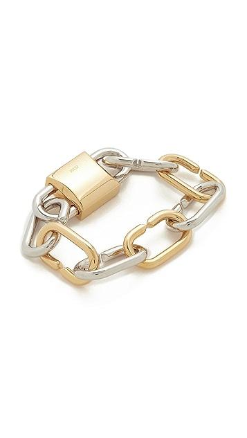 Alexander Wang Broken Link Bracelet