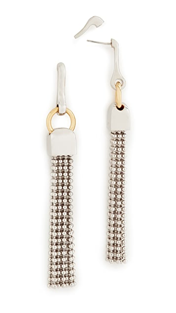Alexander Wang Ball Chain Earrings