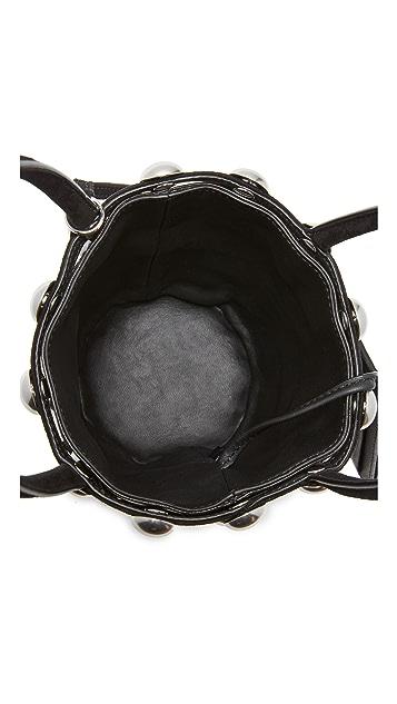 Alexander Wang Ball Stud Roxy Cage Mini Bucket Bag