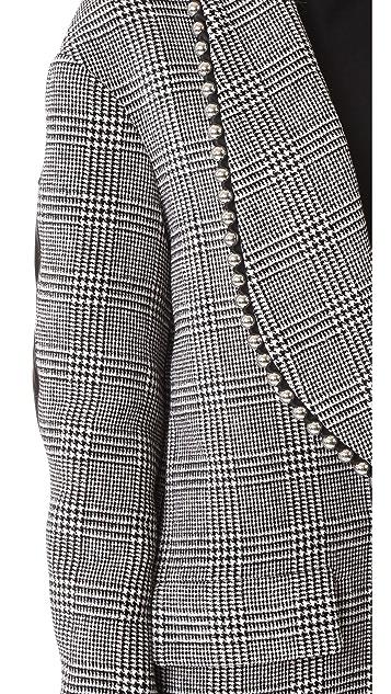 Alexander Wang Biker Sleeve Shawl Collar Coat