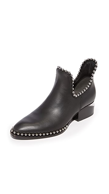 Alexander Wang Kori Cutout Ankle Booties