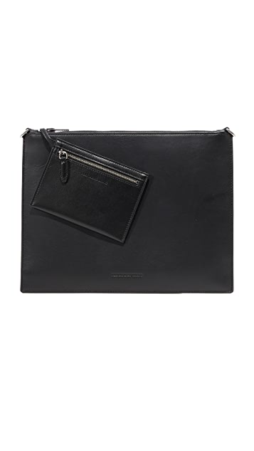 Alexander Wang Genesis Pouch with Box Chain