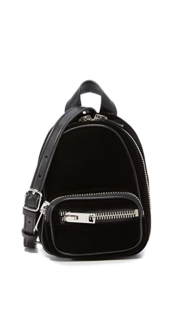 Black Mini Attica Soft Backpack XBody Bag Alexander Wang 3jK4o6BnFQ