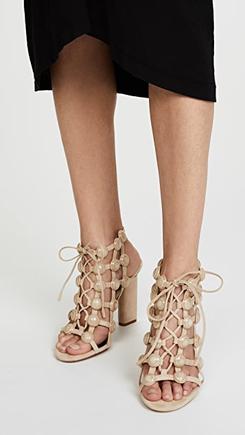 Alexander Wang Rubie Cage Sandals