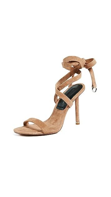 Alexander Wang Evie Wrap Sandals