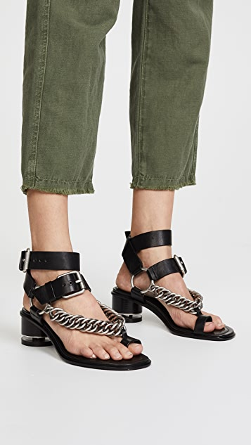 Alexander Wang Jada Chain Sandals