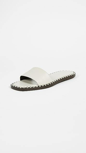 Alexander Wang Lola Studded Slides