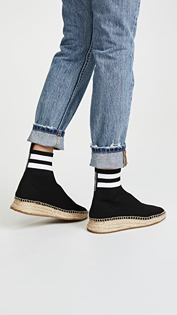 free shipping countdown package newest cheap online Alexander Wang Dylan Espadrille sneakers buy cheap high quality discount Manchester lLSmojLiz
