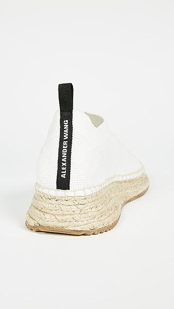 Alexander Wang Dylan Low Knit Espadrille Runners
