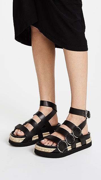 Alexander Wang Bess Platform Sandals