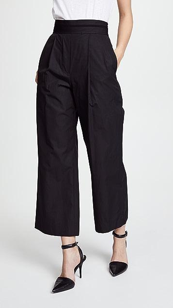 Alexander Wang Deconstructed Crop Pants - Black
