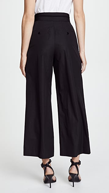 Alexander Wang Deconstructed Crop Pants