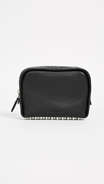 Alexander Wang Fumo Medium Cosmetic Case - Black