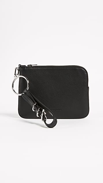 Alexander Wang Ace Small Wristlet - Black