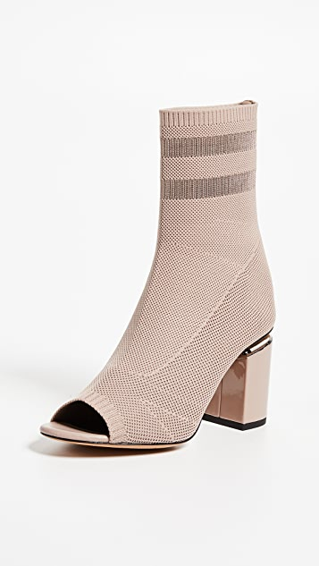 Alexander Wang Cat Mid Heel Ot Booties