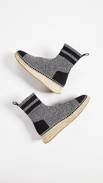 Alexander Wang Dylan Knit Espadrilles