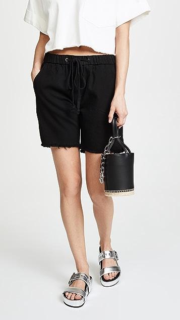 Alexander Wang Roxy Mini Espadrille Bucket Bag