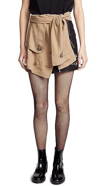 Alexander Wang Trench Skirt
