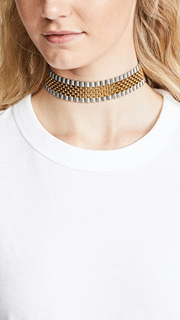 Alexander Wang Watch Strap Choker Necklace