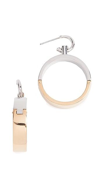 Alexander Wang Hoop Earrings